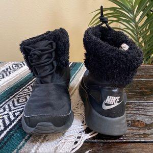 Nike Black Kaishi Winter Fur Lined Bootie